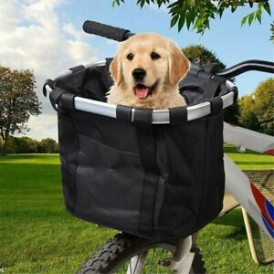 Bicycle-Front-Basket-Removable-Waterproof-Bike-Handlebar-Basket-Pet-Carrier