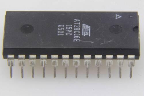 Manufacturer:ATMEL MPN:AT28C16E-15PC Encapsulation:DIP,16K 2K x 8 CMOS E2PROM