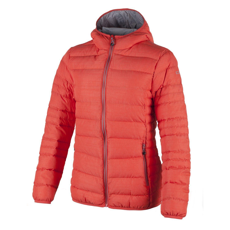 CMP Daunenjacke Übergangsjacke Orange Teflon® schnelltrocknend warm