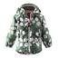 sizes 12 18 24 month REIMA Beautiful Kids Rain Jacket Green with White Circles