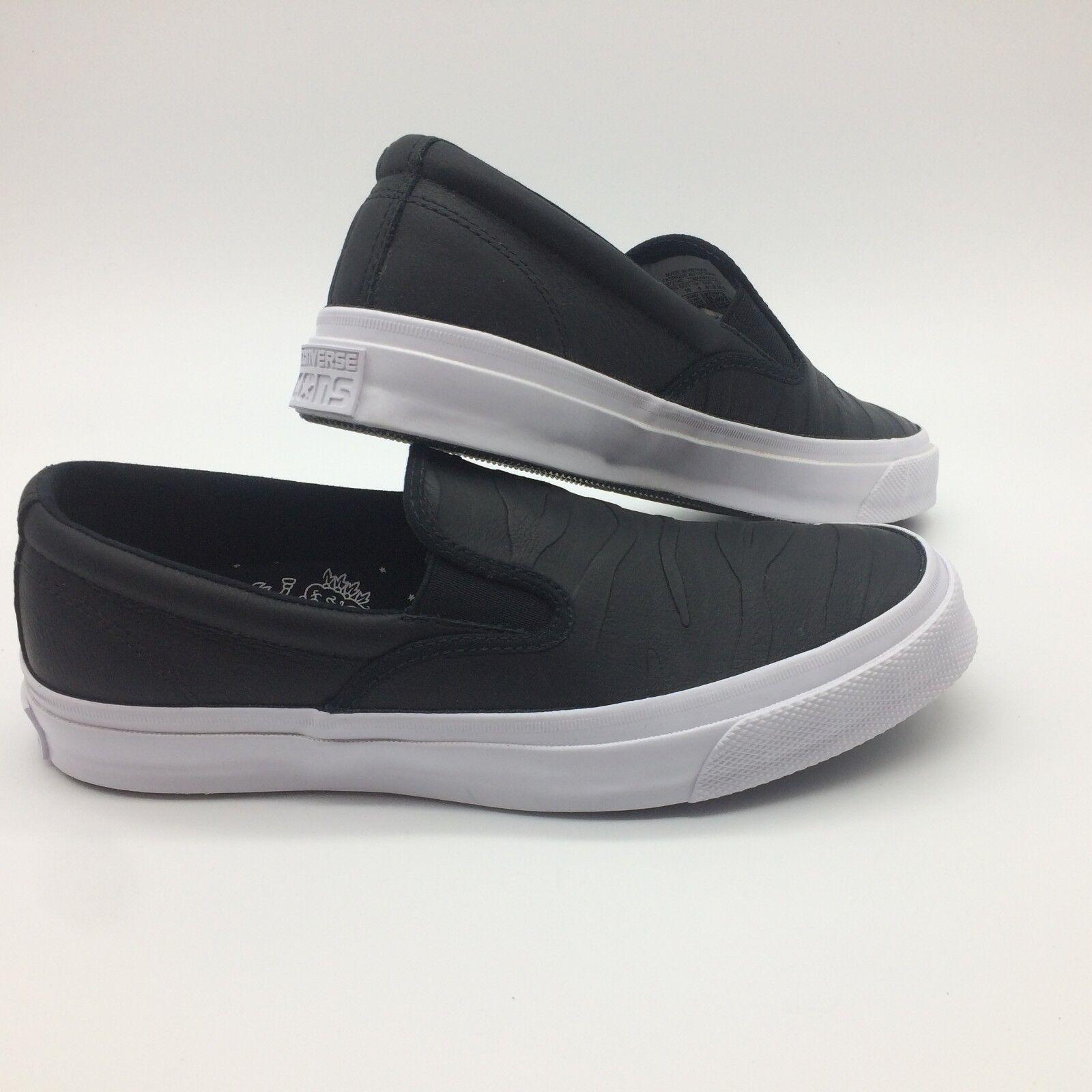Converse Men's Shoe's (Icons Deckstar Slip JJ) Blk/Blk