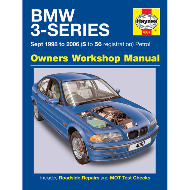 BMW 3 Series HAynes Manual 1998-03 1.8 1.9 2.0 Petrol Workshop Manual
