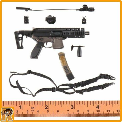 SIG MPX Submachine Gun Set Pisces Nana 1//6 Scale Damtoys Action Figures