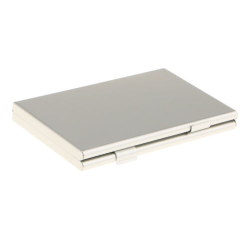 6 in 1 Metal Aluminum Storage Box SD//SDHC Memory Card Case Holder Protector