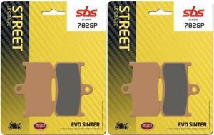 Suzuki-GSX-S-750-17-18-19-SBS-Anteriore-Evo-Sinterizzate-Pastiglie-Freno-Set-OE
