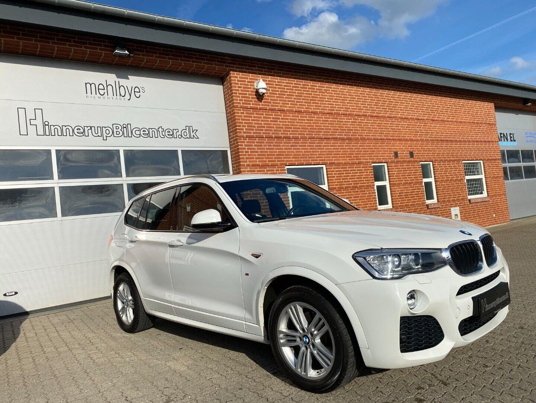 BMW X3 2,0 xDrive20d M-Sport aut. 5d - 329.900 kr.
