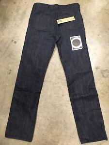 88365419 Ksubi Mens Dee Dee pre loved md11922 Indigo Denim Blue Jeans Slim ...