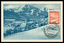 AUSTRIA MK 1948 MARIAZELL MAXIMUMKARTE CARTE MAXIMUM CARD MC CM h0727