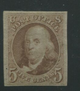 1875-United-States-Postage-Stamp-3-Mint-Hinged-F-VF