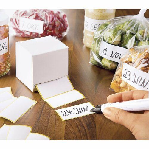Étiquettes adhésives congélation