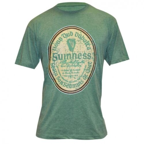 G6049 Green Guinness Shirt Gaelic T Official Guinness Logo Merchandise