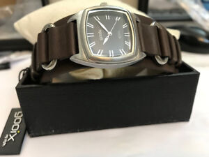 Gooix-Women-039-s-Watch-Very-Nice-amp-Luxury-Designer-Bracelet-Real-Leather-in-Brown