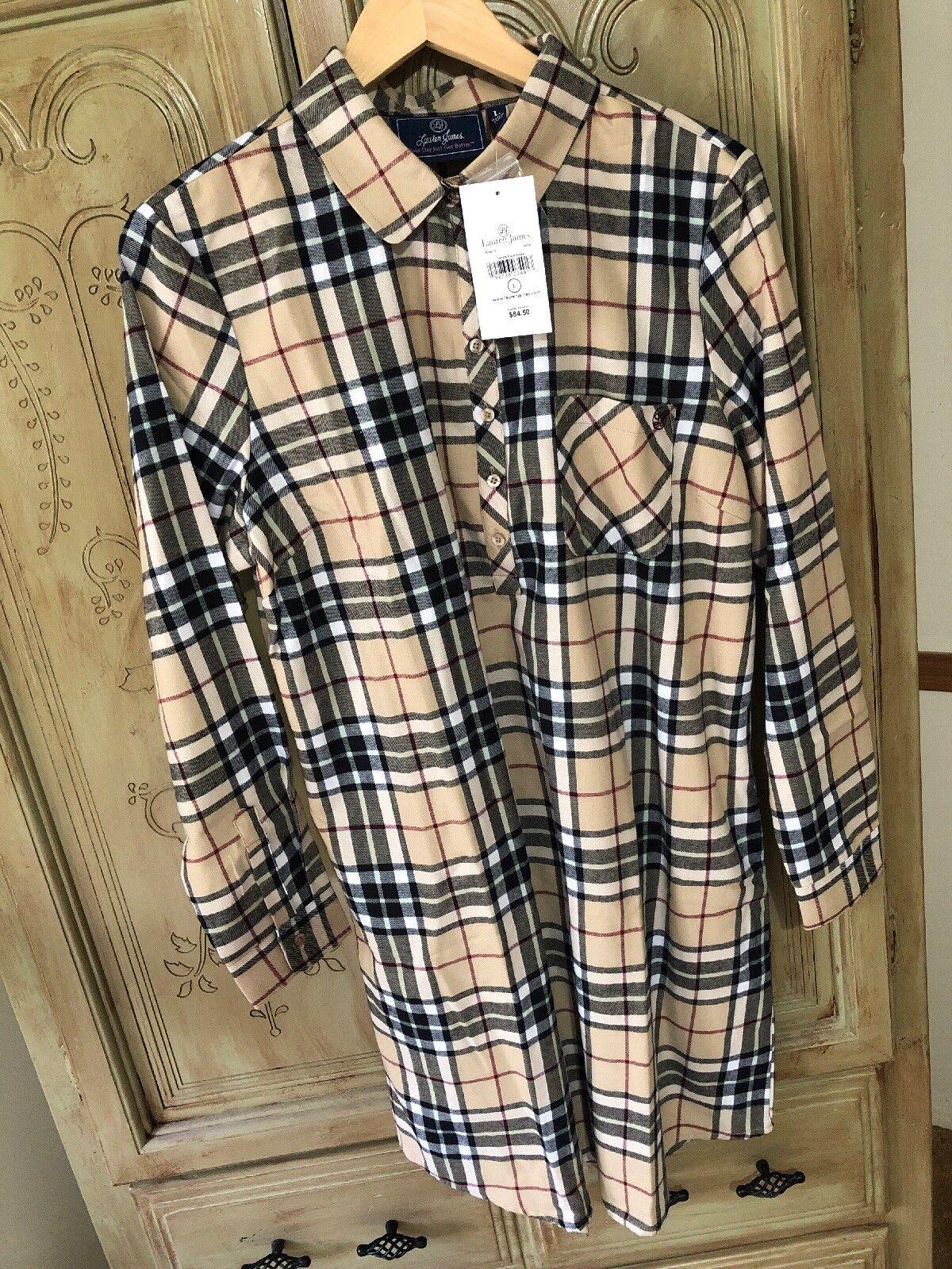Lauren James Dakota Plaid Dress
