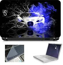 Laptop Skin Ducati with Screen Guard and Key Board Protector (3in1 Combo) 15.6""