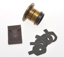 C.P. Goerz rare old brass lens Rapid WeitWinkel Lynkeioskop Serie E n.1