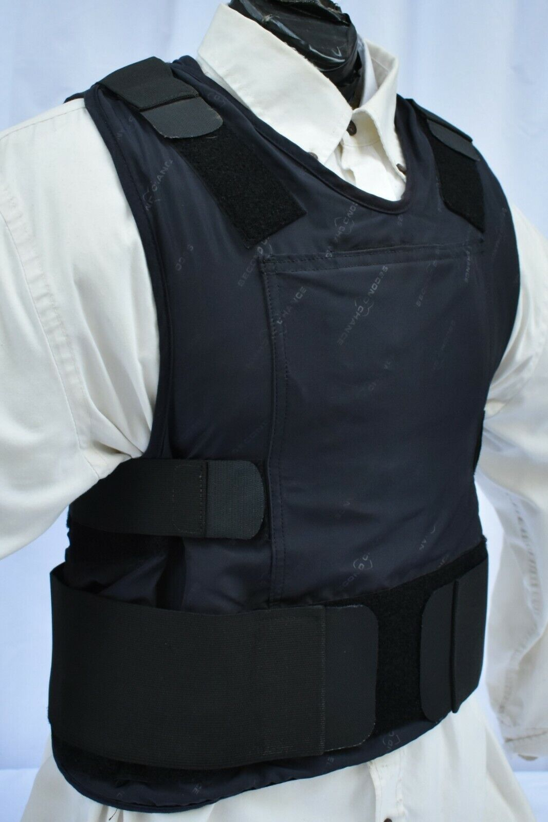 3XL IIIA Lo Vis    Concealable Body Armor Carrier BulletProof Vest with Inserts  the best online store offer