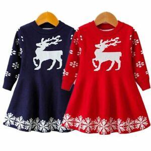Princess-Dress-Christmas-Kids-Outfit-Cute-Design-Long-Sleeved-Winter-Dresses-New