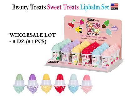 Beauty Treats Sweet Treats Lip Balm Set Wholesale Lot 2 Dz 24 Pcs Ebay