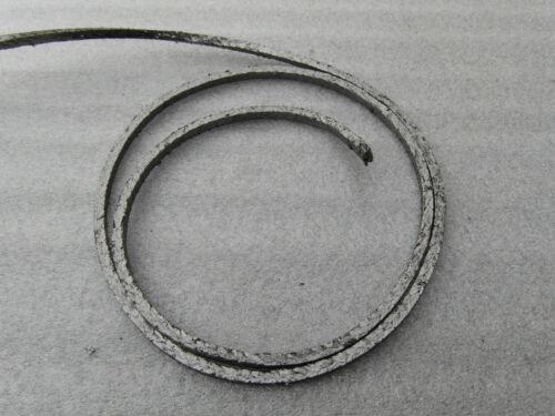 6 mm Dichtschnur Graphitpackung Stopfbuchsen Pumpe Auspuff Ofen Hochdruck
