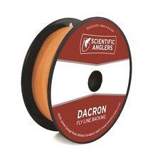 Scientific Anglers Dacron Fly Line Backing Orange 20lb 250yds