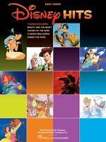 Disney Hits Sheet Music Easy Piano Songbook 000316075