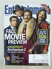 ENTERTAINMENT WEEKLY ew 2013 Anchorman 2 Steve Carell Will Ferrell Paul Rud