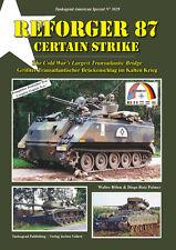 Tankograd 3029 REFORGER 87 - Certain Strike: The Cold War's Largest Transatlanti