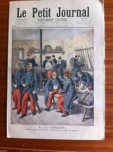 Le-petit-Journal-illustre-17-03-1895-Duel-Escrime-mort-de-Harry-Alis
