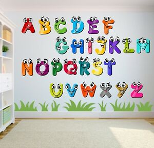 ALPHABET-LETTERS-STICKERS-NURSERY-PHONICS-LEARNING-BABY-WALL-ART-STICKER-DECAL