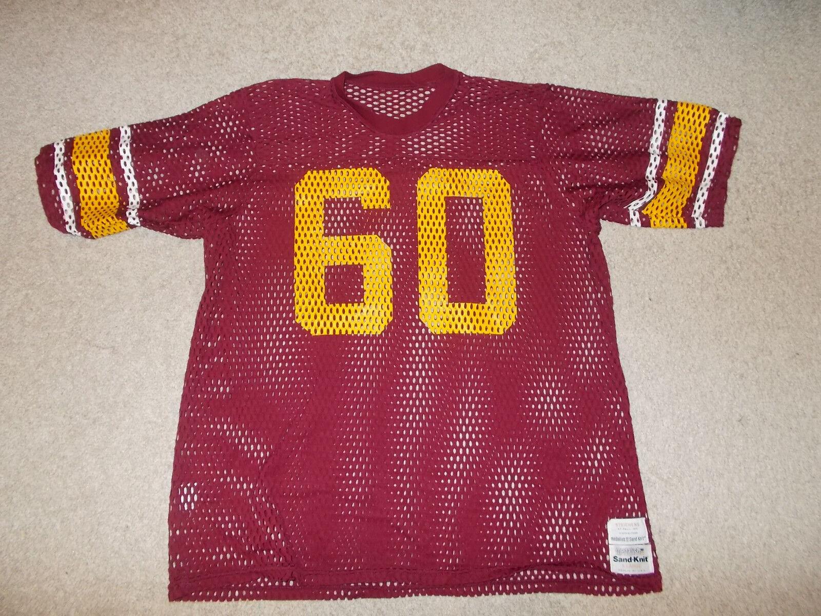Vtg-1980s Universidad de Minnesota Gophers Steichen's Juego Usada   Camiseta
