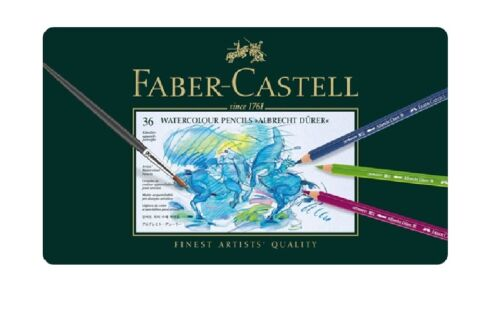 Faber Castell Albrecht Durer 36 Set Artists Quality Watercolour Pencils