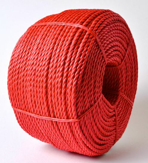 'EVERLASTO' RED POLYPROPYLENE POLY ROPE POLYROPE 6MM, 8MM, 10MM, 12MM & 16MM