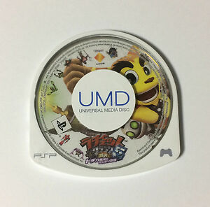 USED-PSP-Disc-Only-Ratchet-amp-Clank-5-Gekitotsu-Dodeca-Ginga-no-Mirimiri-Gundan