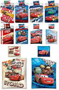Details Zu Baby Kinder Bettwäsche Cars 135x200 140x200 100 Baumwolle Disney Mcqueen Auto