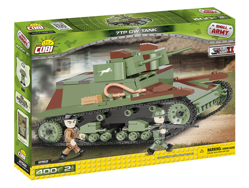 Cobi 2512 - Small Army - - - WWII 7Tp Dw Tank - Neu 78961a