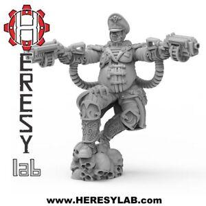 Details about HL03 - Female Commissar - Gurten Lena Imperial Guard -  Warhammer 40k Proxy -