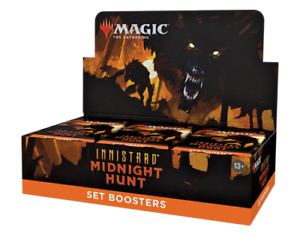 Innistrad Midnight Hunt Set Booster Box - MTG Magic the Gathering - Brand New!