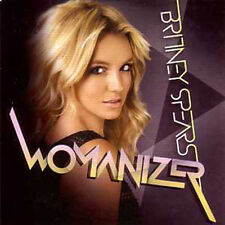 CD Single Britney SPEARS Womanizer 2-track CARD SLEEVE EX/EX