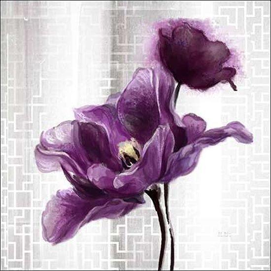 Art Atelier Alliance  Ethereal Sprint Tulip Keilrahmen-Bild Leinwand Blaumen
