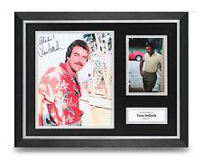Tom Selleck Signed Photo Framed 16x12 Magnum Autograph Memorabilia Display + COA