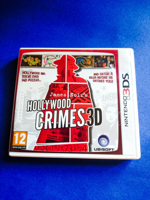 Hollywood Crimes 3D, Nintendo, Nintendo 3DS, adventure,…