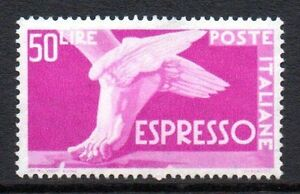 "Italy - 1951 Express mail stamp Mi. 855 MNH - Enschede, Nederland - Italy - 1951 Express mail stamp Mi. 855 MNH Click the button below to view more Italy lots from our extensive offerings. After clicking select ""Italy"" in the blue side-bar on the left. Our lots start at just €0,25 Combine up to 10  - Enschede, Nederland"