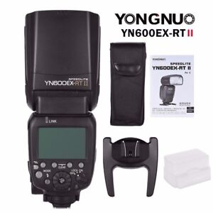 Yongnuo-YN600EX-RT-II-TTL-HSS-Wireless-Master-Flash-Speedlite-for-Canon-Cameras
