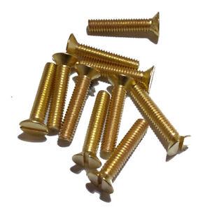 DIN 963 viti svasate a taglio in acciaio inox a2 m6 da 10 a 70 mm