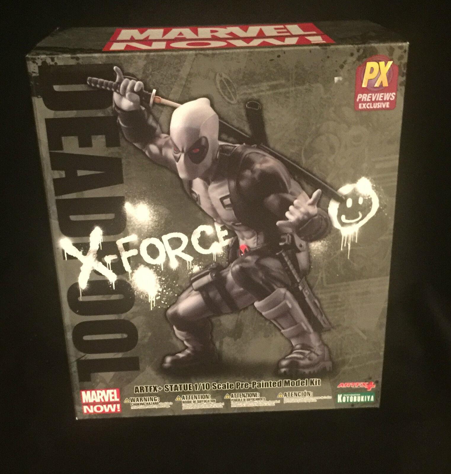 Deadpool X -Force förundras nu konstFX STATUE AV KOTOBUKIYA