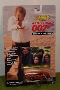Die-cast-metal-Johnny-Lightning-JAMES-BOND-007-FOR-YOUR-EYES-ONLY