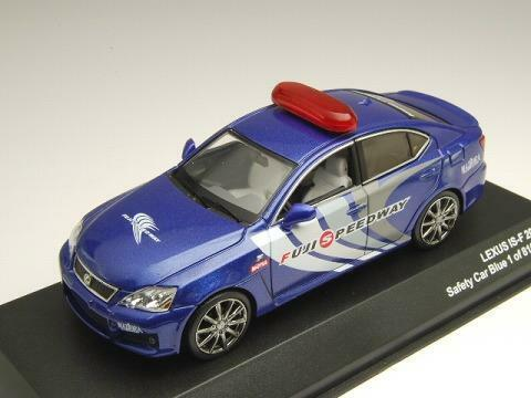 J-Collection 1 43 Lexus IS-F 2008 Safety Car bluee Limited Edition from Japan