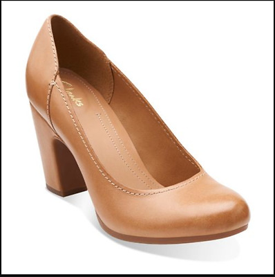 Womens Smart Shoes Crumble Cream in Dusty Pink Leather