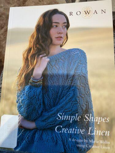 Rowan-simples formas-Libro De Lino creativa 8 diseños de Marie Wallin