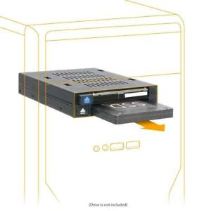 ICY-DOCK-Dual-Bay-2-5-to-3-5-SATA-SAS-SSD-HDD-Trayless-Hot-swap-Dock-Mobile-Rack